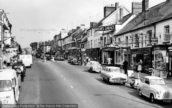 Honiton, High Street c1960
