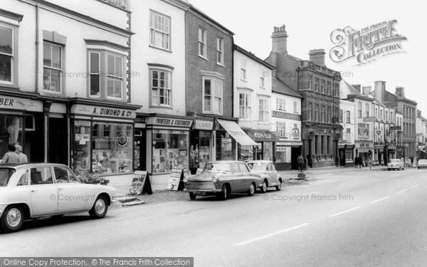 Honiton, High Street c1965