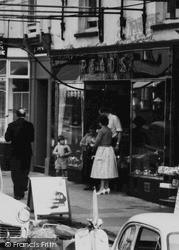 Honiton, High Street, Read's Shop c.1960