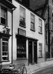 Honiton, Joe Kenwood, Seedsman, New Street 1904