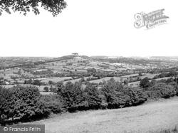 Honiton, View From Honiton Hill c.1955