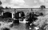 Honiton, Weston, the Bridge c1960