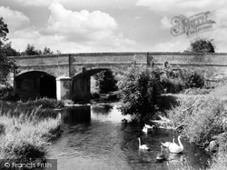 Honiton, Weston, The Bridge c.1960