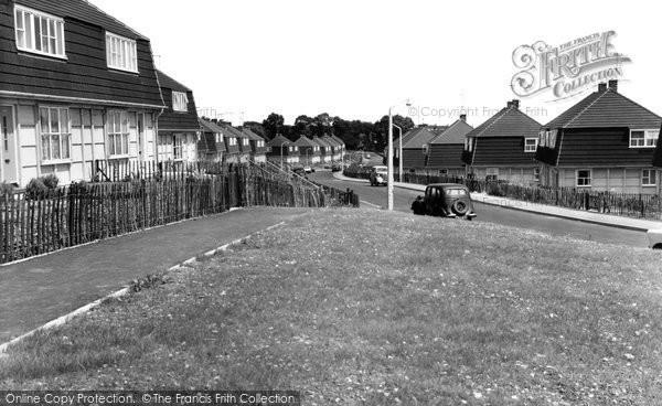 Hoo, Knights Road c1960