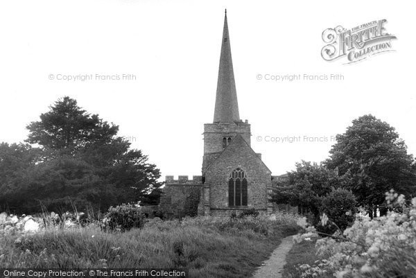 Hoo, the Church c1955