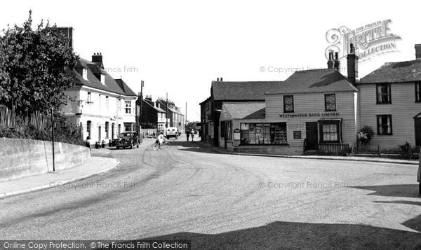 Hoo, the Village c1955