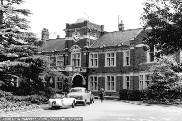 Photo of Hooley, Hospital Entrance c.1965