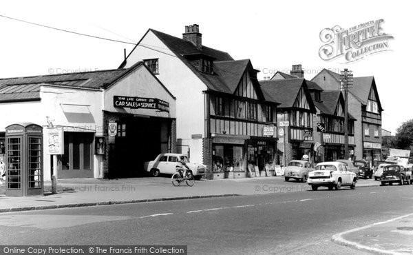 Hooley, Shopping Centre c1965