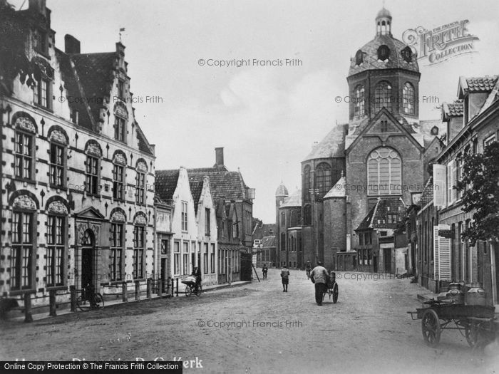 Photo of Hoorn, Achterom, Diaconiehuis c.1930