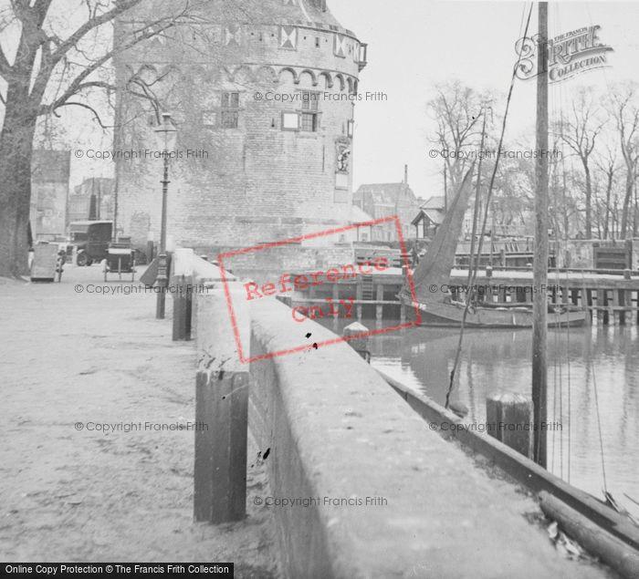 Photo of Hoorn, Promenade By Hoofdtoren 1938