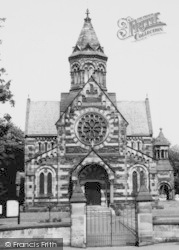 Hooton, St Paul's Parish Church c.1960