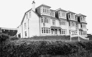 Hope Cove, Grand View Hotel c1955