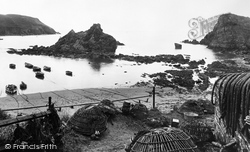 Lobster Pots 1922, Hope Cove