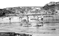 Hope Cove, the Harbour and the Beach c1936