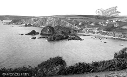View From Cliffs 1920, Hope Cove