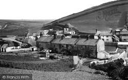 Village From The Back 1890, Hope Cove