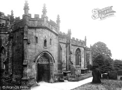 St Peter's Church, South Door 1932, Hope