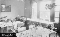 The Dining Room, Birchfield House c.1955, Hope