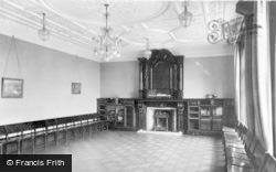 The Music Room, Birchfield House c.1955, Hope