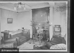 The Writing Room, Birchfield House c.1955, Hope