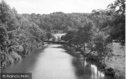 The River Lugg c.1955, Hope Under Dinmore