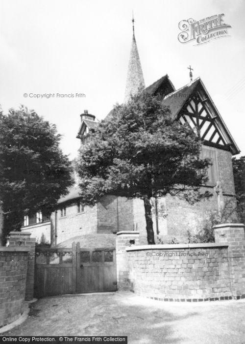 Photo of Hopwas, St Chad's Church c.1965
