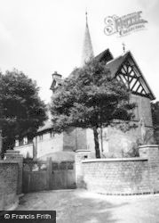 Hopwas, St Chad's Church c.1965