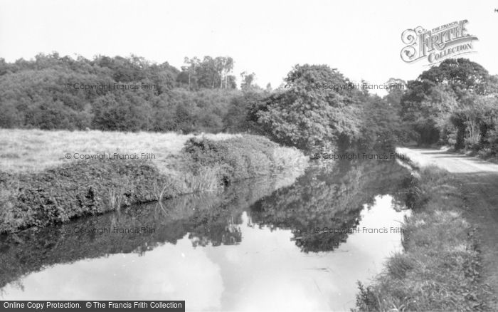 Photo of Hopwas, The Canal And Woods c.1965