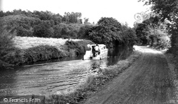 Hopwas, The Canal c.1965