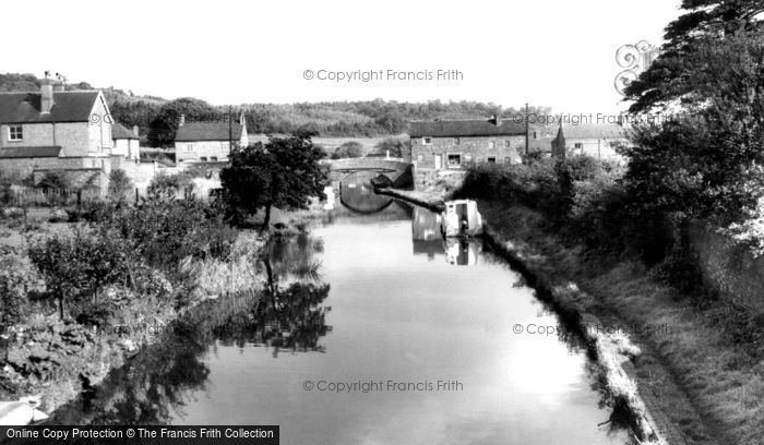 Photo of Hopwas, The Canal From Nursery Lane Bridge c.1955