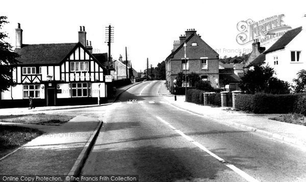 Photo of Hopwas, The Chequers And Cross Roads c.1965