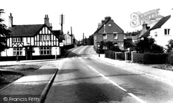 Hopwas, The Chequers And Cross Roads c.1965