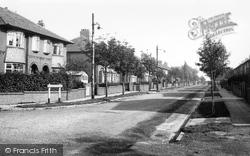 Hopwood, Hopwood Avenue c.1955
