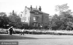 Hopwood, Playing Bowls c.1955