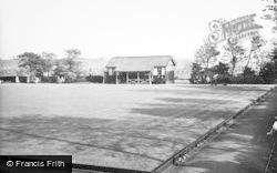 Hopwood, The Bowling Green c.1955