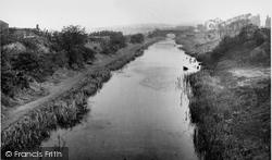 Hopwood, The Canal c.1955