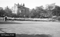 Hopwood, Union Club And Bowling Green c.1955