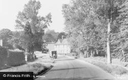 Horam, Bridge Cottages c.1955