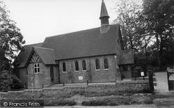 Horam, Christ Church c.1955