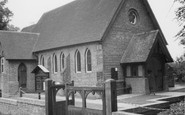 Horam, Christ Church c1955