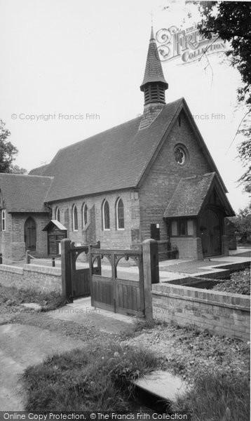 Photo of Horam, Christ Church c1955