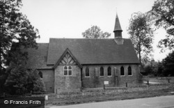 Horam, Christ Church c.1960