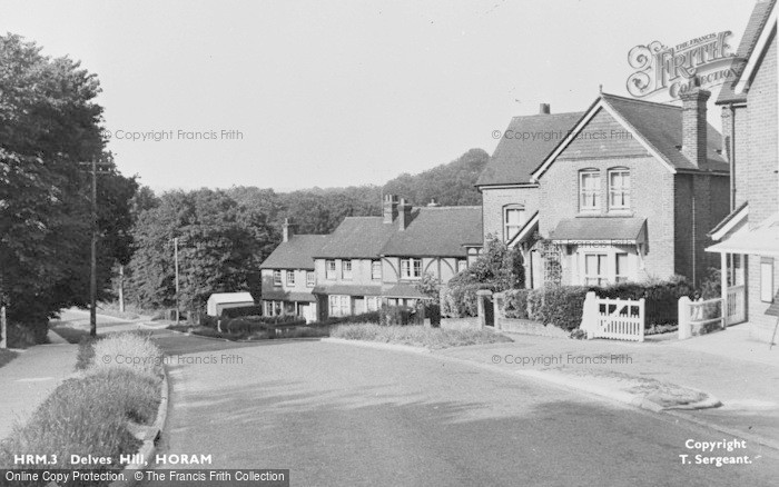 Photo of Horam, Delves Hill c.1950