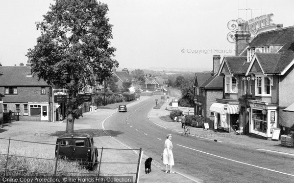 Photo of Horam, High Street c.1958