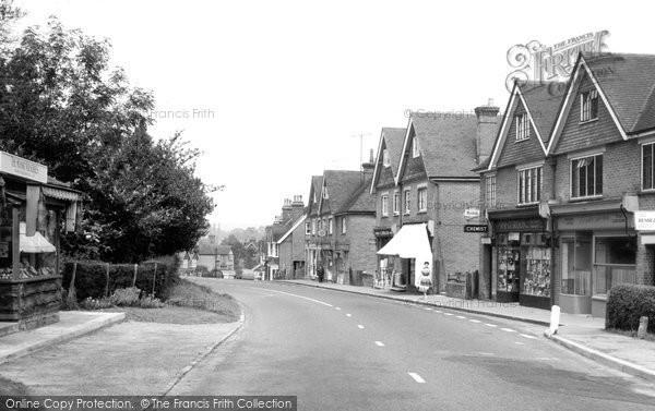 Photo of Horam, Main Road c.1955