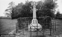 Horam, The Memorial c.1960