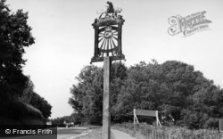 Horam, The Village Sign c.1955