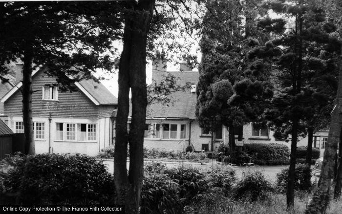 Photo of Horam, The Wharf Hotel c.1955