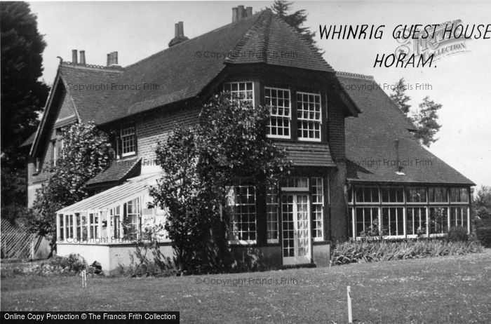Photo of Horam, Whinrig Guest House c.1955