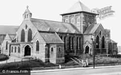 Horden, St Mary's Church c.1955